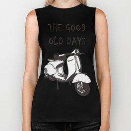 good old days Biker Tank