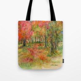 Autumn Woodlands Tote Bag