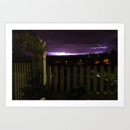 Thunder From South-East Art Print