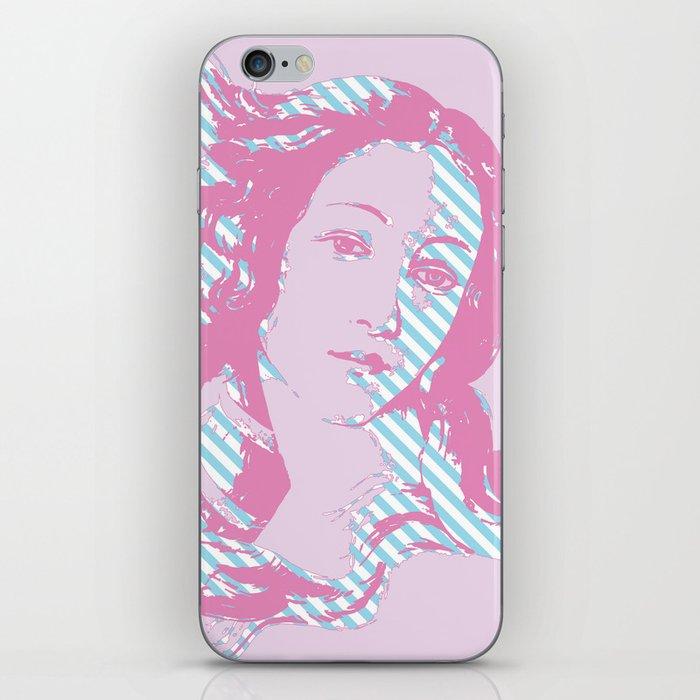 Rebirth of Venus - Pink & Cyan - Trans Pride! iPhone Skin