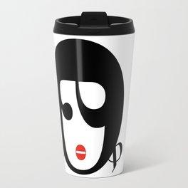 Bodoni Girl Travel Mug