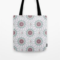wallpaper Tote Bags featuring Wallpaper  by Truly Juel