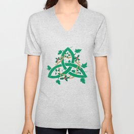 The Holly And The Ivy Unisex V-Neck