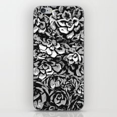 Plants of Black And White iPhone & iPod Skin