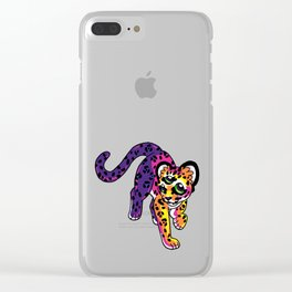 Oracular Leopard Cub Clear iPhone Case