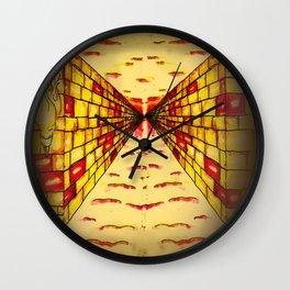Daedalus Corridor - Theseus Vs The Minotaur - WiNF Studios Wall Clock