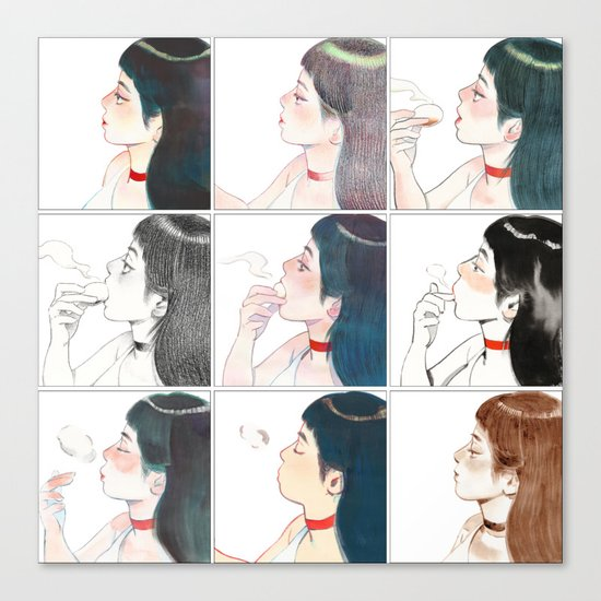 Buns Canvas Print