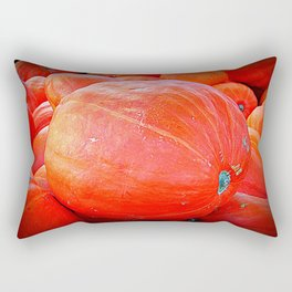 October Pumpkin Rectangular Pillow