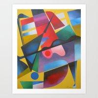 ruben Art Prints featuring Ruben 1 by  Alexandra's Collection