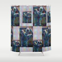 """Negative Tempation"" by surrealpete Shower Curtain"