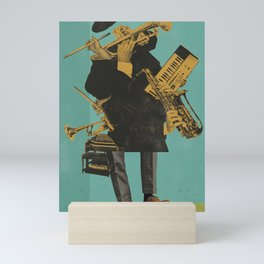 ABSTRACT JAZZ Mini Art Print