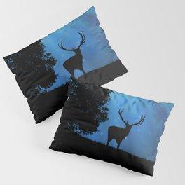 Moon & Deer - JUSTART © Pillow Sham