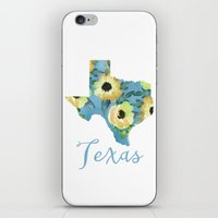 texas iPhone & iPod Skins featuring Texas by Wisbury