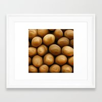 potato Framed Art Prints featuring Potato Potato by MeatSteed