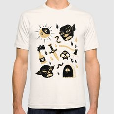 Monsters Natural LARGE Mens Fitted Tee