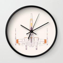 Spaceship Wall Clock