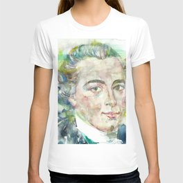 IMMANUEL KANT - watercolor portrait T-shirt