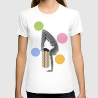 yoga T-shirts featuring Yoga by Lerson