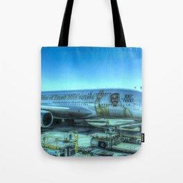 Emirates Airbus A380-800 Tote Bag