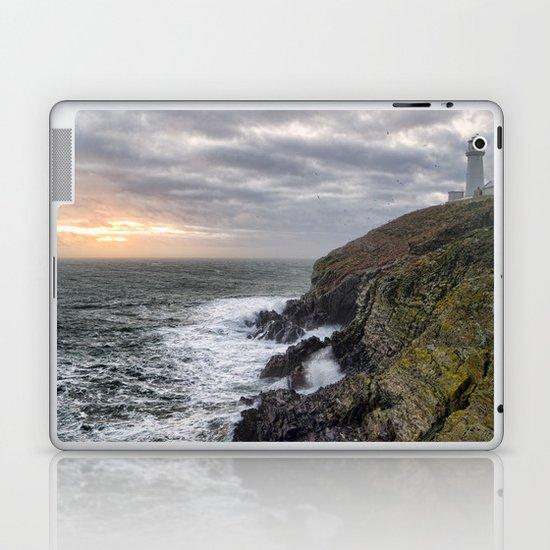 South Stack light house Laptop & iPad Skin