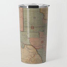 Houston Post map of the great Southwest (1880) Travel Mug