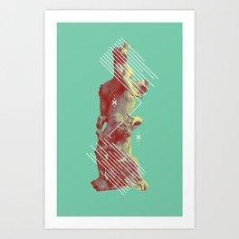 HIGH CALAMITY Art Print