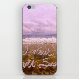 I need Vitamin Sea iPhone Skin
