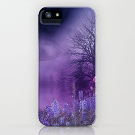 Funeral Under Moonlight iPhone Case