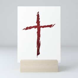 Rugged Cross Mini Art Print