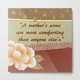 A Mother's Arms Metal Print