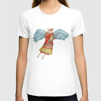 angel T-shirts featuring Angel by Catru