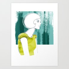 Irma Art Print