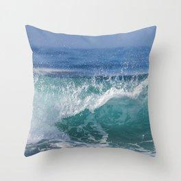 Vitamin Sea Throw Pillow