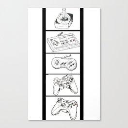 Video Games Canvas Print