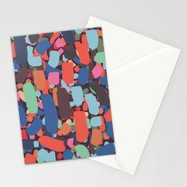 Brush strokes pattern #10 Stationery Cards