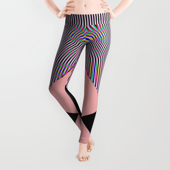 Out Of Focus Leggings
