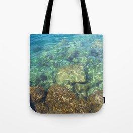 Greek Sea Water Tote Bag