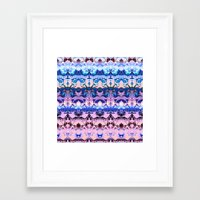 zen Framed Art Prints featuring Zen. by Assiyam