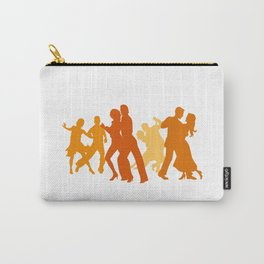 Tango Dancers Illustration  Carry-All Pouch