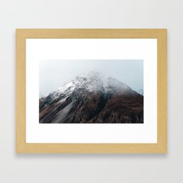 Summit Longing Framed Art Print