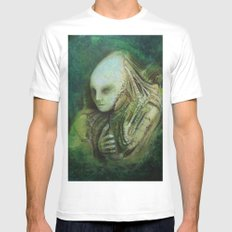 The Composer SMALL White Mens Fitted Tee