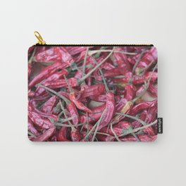 Red chili spicy pattern Carry-All Pouch