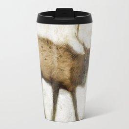 Grand Canyon Elk No. 2 Wintered Travel Mug