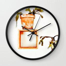 Plant Wall | #society6 #decor #buyart Wall Clock