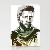 uncharted Stationery Cards featuring NEW Uncharted 3 by James Brunner