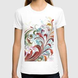 Floral Art Design T-shirt