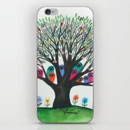 South Carolina Whimsical Owls in Tree iPhone Skin