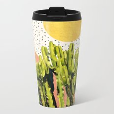 Cactus Dream #society6 #decor #buyart Metal Travel Mug