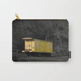 Eleutherian Mills Yellow Boxcar Powder Keg Transport Vintage Rolling Stock Carry-All Pouch
