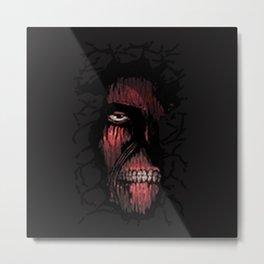 Titan hide Metal Print